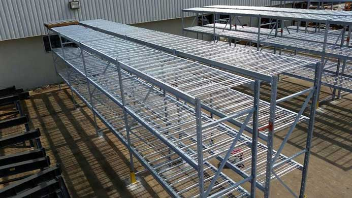 Galvanized Pallet Rack